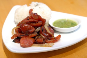 Kuma Inn Chinese Sausage